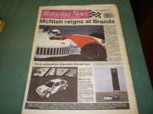MOTORING NEWS 1990 August 22 Nurburgring Group C, F3000, Border Rally, BTCC, Rallycross